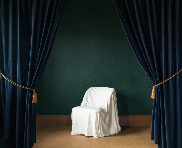 "Title: The Armchair From the series ""White Endings"" Artist: Nygårds Karin Bengtsson"