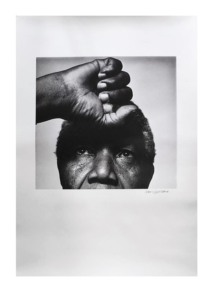 Mandela Poster Vintage Ram